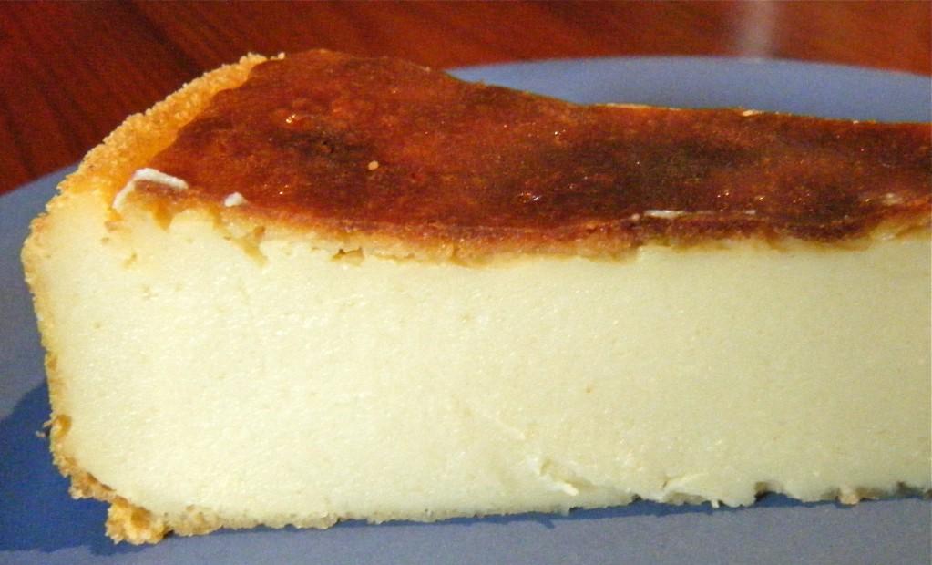 veganer Käsekuchen ohne Boden