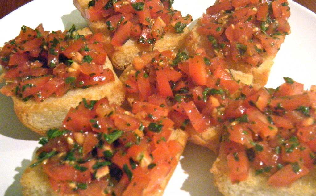 Tomate-Bruschetta