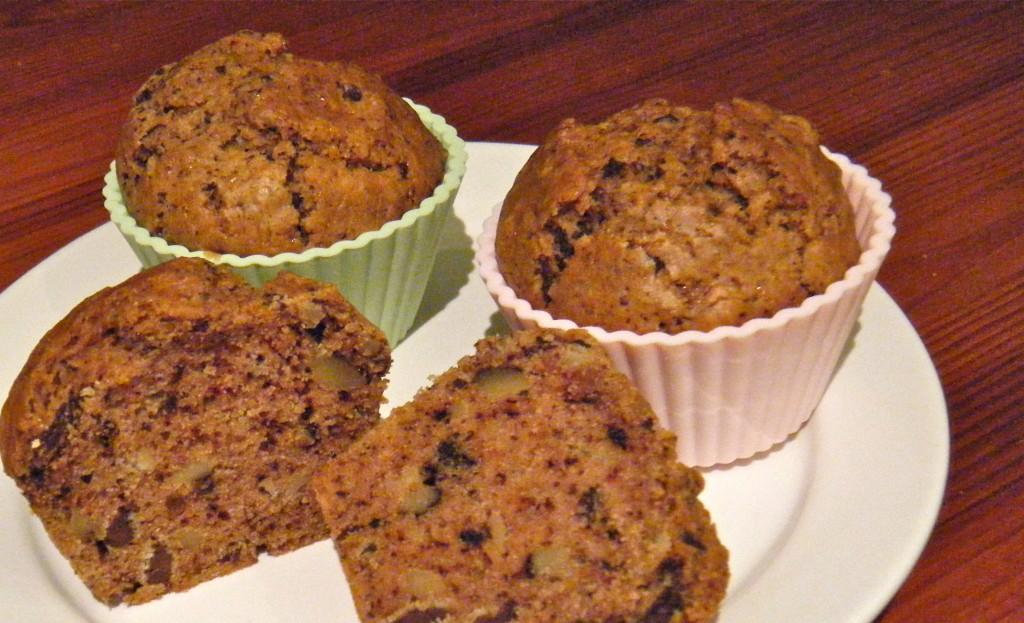 Schoko-Walnuss-Muffins
