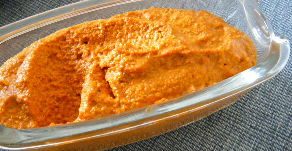 Paprika-Walnuss-Paste