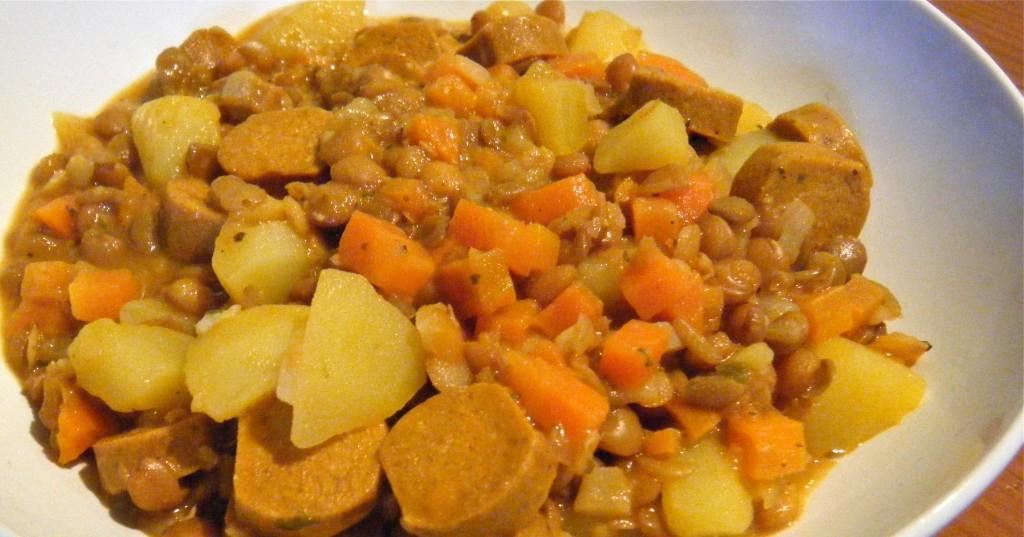 Linsen-Gemüse-Eintopf