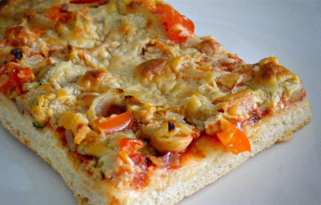 5-Gemüse-Pizza