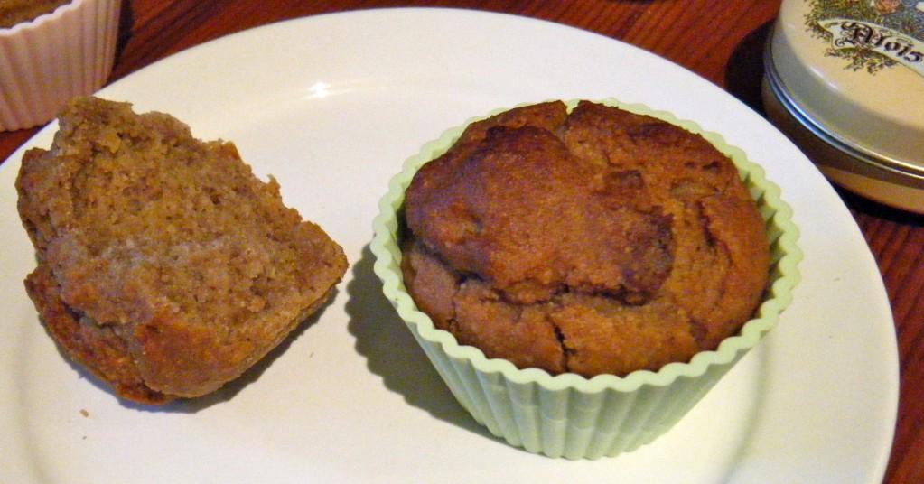 nussige Nuss-Muffins (glutenfrei)