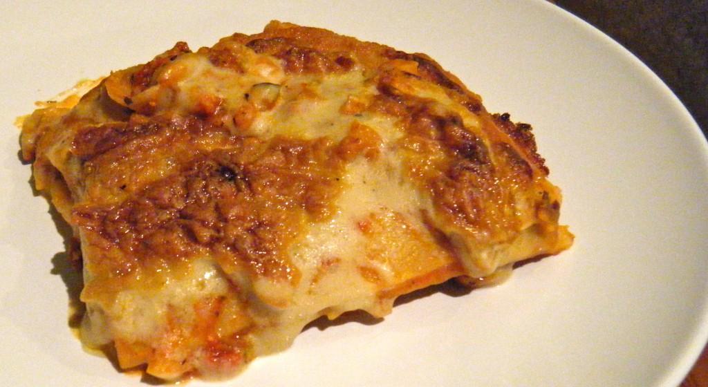 Vollkorn-Lasagne