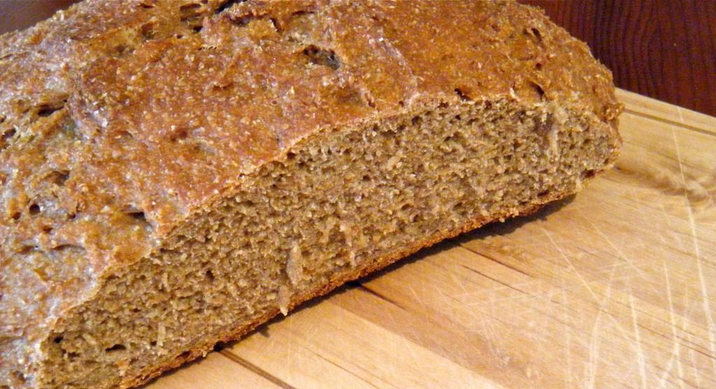 Rustikales Bier-Brot