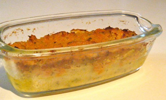 Süßkartoffel-Möhren-Flan