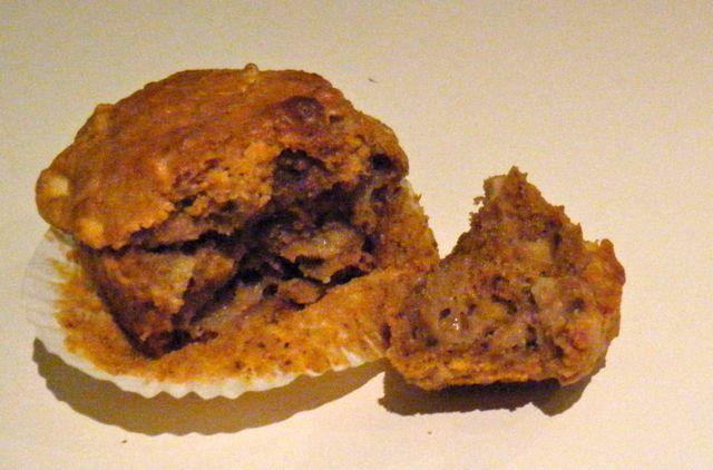 Apfel-Möhren-Walnuss-Muffins