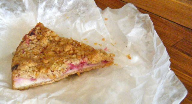 """""""Käse""""-Kuchen mit Johannisbeeren und Streuseln (reloaded)"""