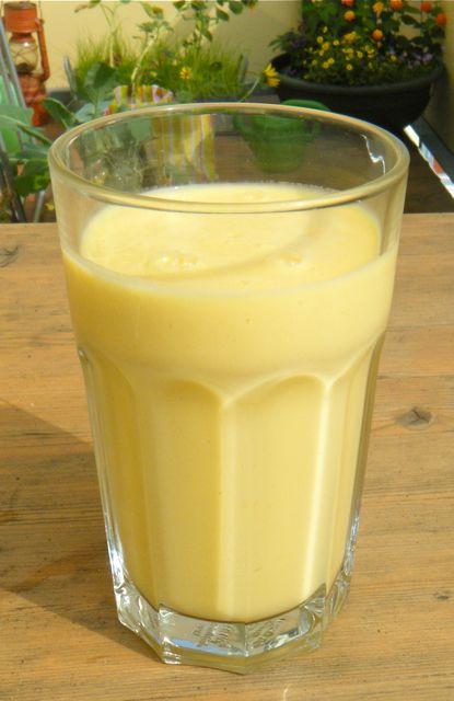 Mango-Joghurt-Drink