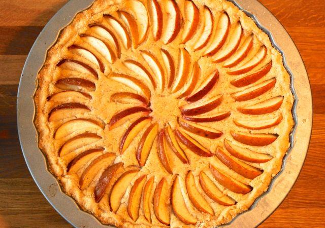 Apfel-Käsekuchen-Tarte